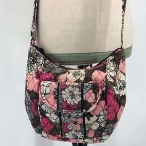 Vera Bradley crossbody bag mocha roughe